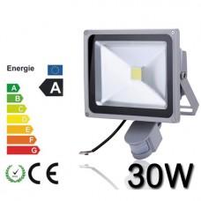 Proiector Plasma LED 30W echivalent 300W cu Senzor
