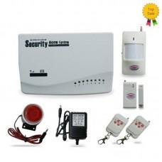 Sistem de Alarma Wireless cu apelare GSM si 2 Telecomenzi